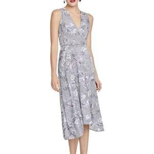 Rachel Roy Grey combo maxi dress